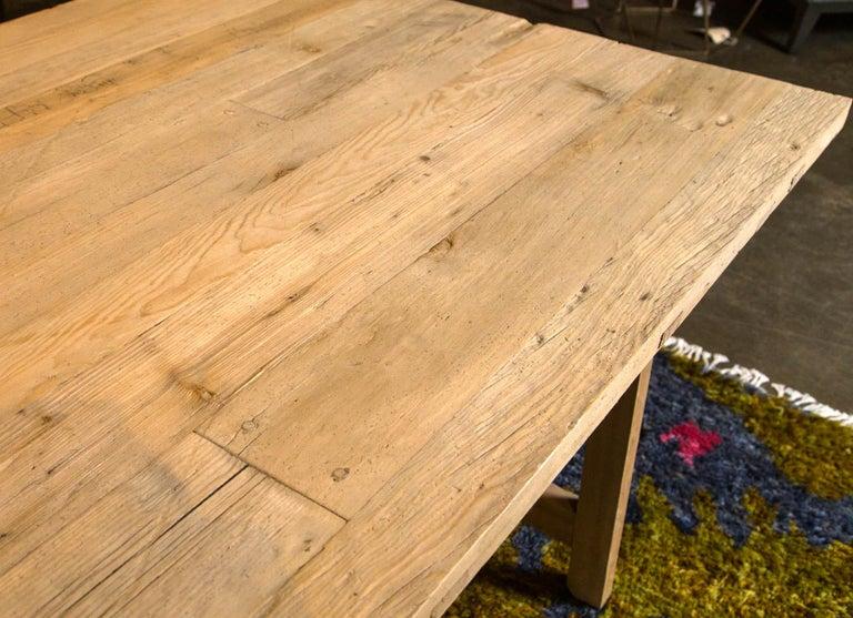 Trestle Leg Farm Table For Sale 1