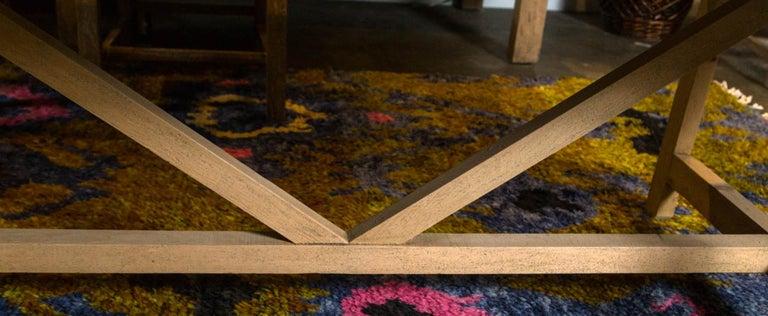 Trestle Leg Farm Table For Sale 2