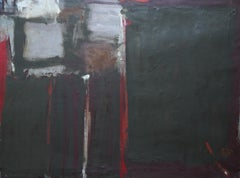 Abstract - British Moderist Abstract Art  - 1950's St Ives School oil painting