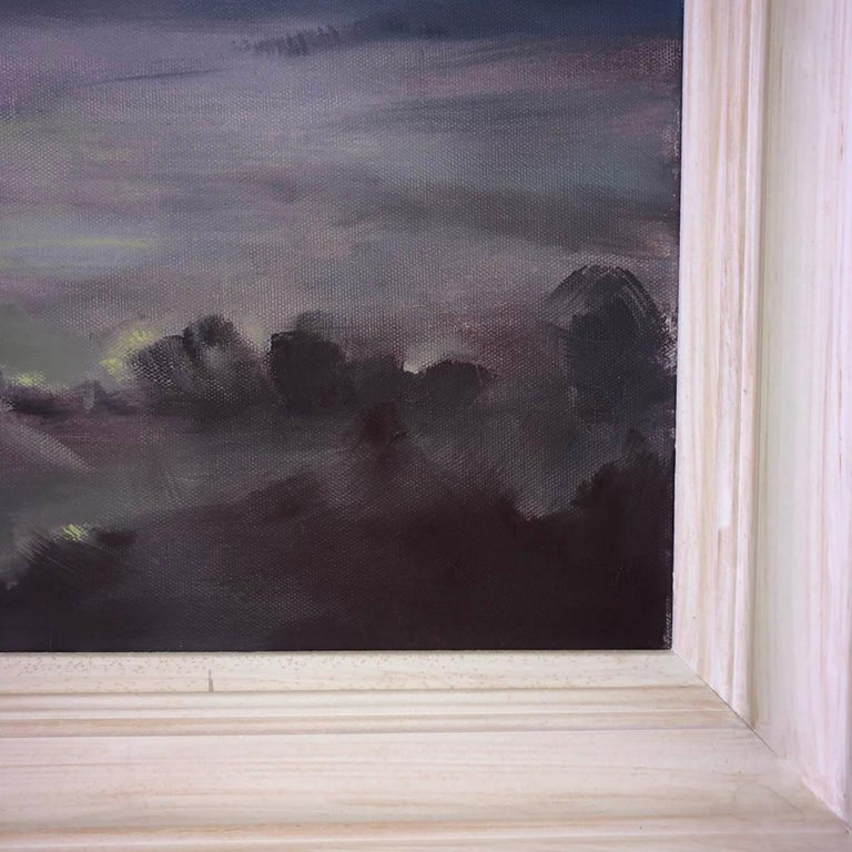 A Wiltshire Sky, Trevor Waugh, Paintings of Wiltshire, Original Oil Paintings For Sale 7