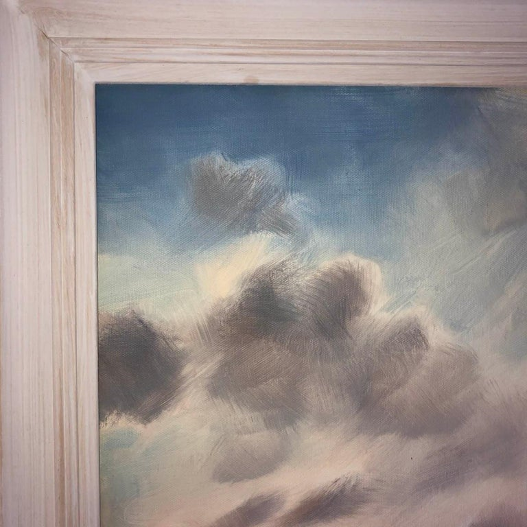 A Wiltshire Sky, Trevor Waugh, Paintings of Wiltshire, Original Oil Paintings For Sale 8