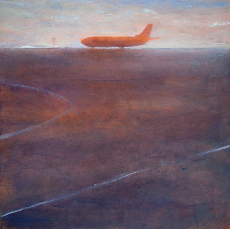 Trevor Young Landscape Painting - Red Hardbody