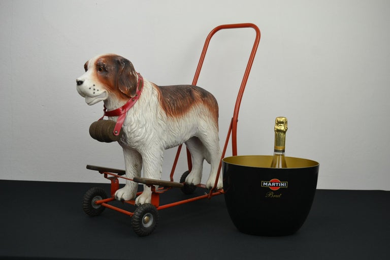 Tri-Ang St Bernard Dog Push Along Toy, 1950s For Sale 12