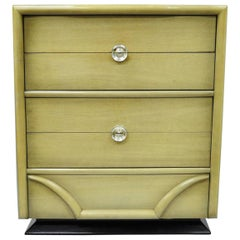 Tri-Bond Mid-Century Modern Bone Dresser Chest Art Deco Gilbert Rohde Era