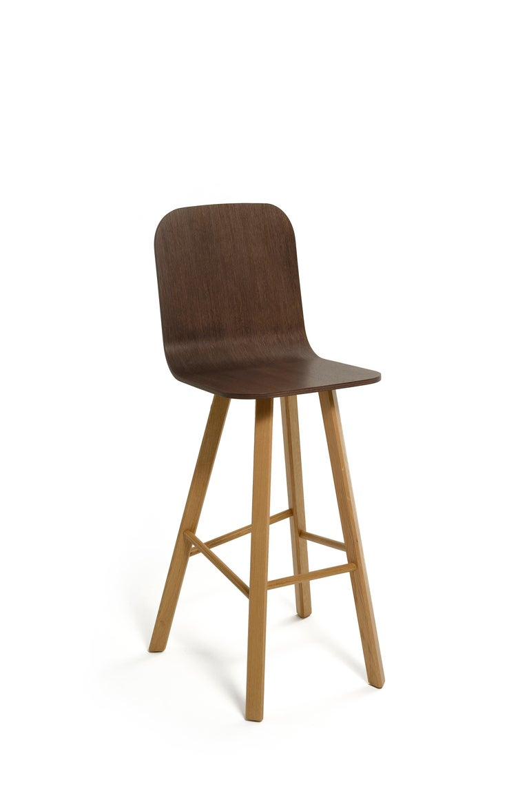 Tria Minimalist Stool HB Fabric by Colé For Sale 3