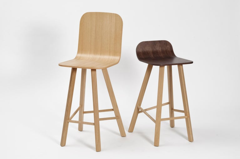 Tria Minimalist Stool HB Fabric by Colé For Sale 6