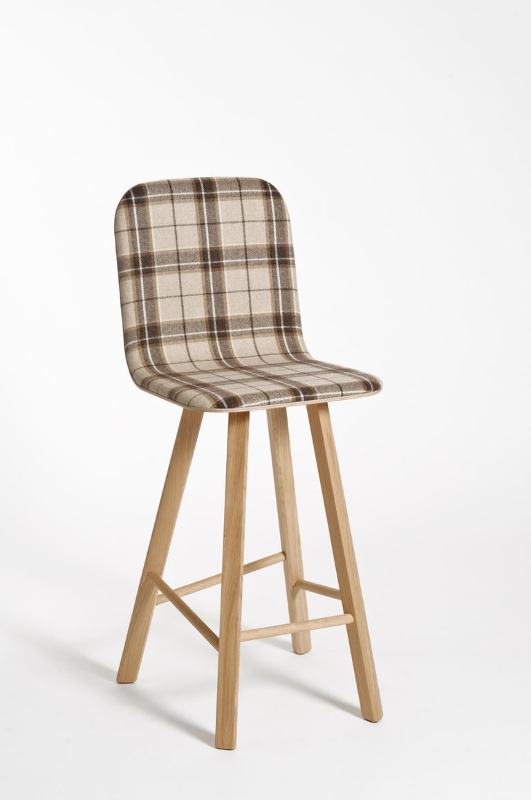 Tria Minimalist Stool HB Fabric by Colé In New Condition For Sale In Milan, Lombardy