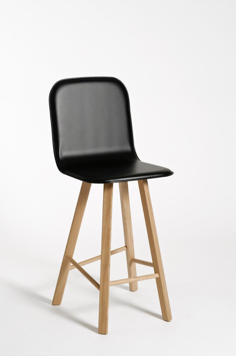 Tria Minimalist Stool HB Fabric by Colé For Sale 1