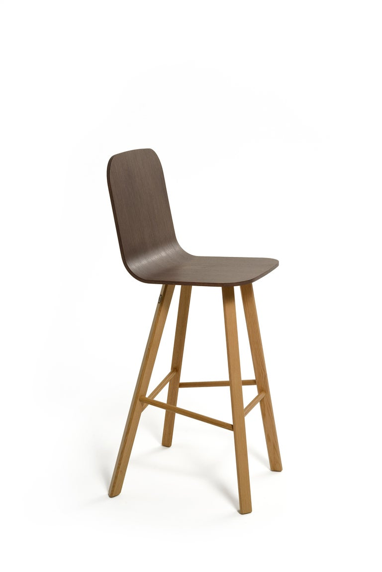 Tria Minimalist Stool HB Fabric by Colé For Sale 2