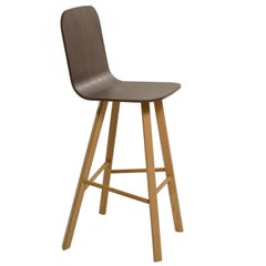 Tria Stool High Back by Colé, Minimalist Design Icon Inspired to Graphic Art