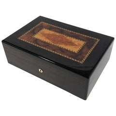 Triade Cigar Humidor with Marquetry Top