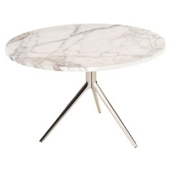 Triangle Light Marble Coffee Table