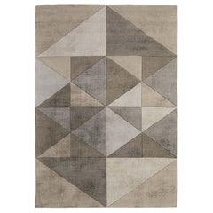 Triangles Rug Beige