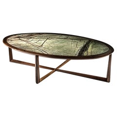 Triangolo Oval Coffee Table by Ivano Colombo