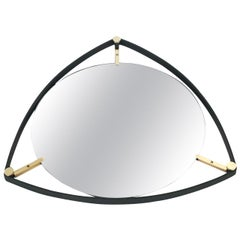 Trousdale Triangular Italian Floating Mirror