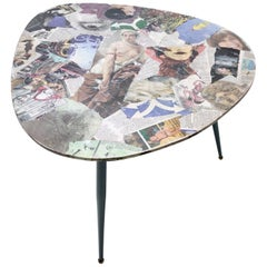 Triangular Wooden Coffee Table by Carmelo La Gaipa, Italy, 2018