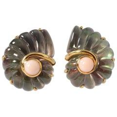 Trianon Shell Earrings