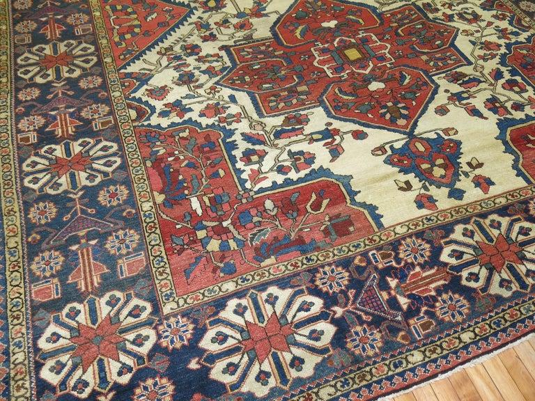 Tribal Antique Bakhtiari Rug For Sale 2