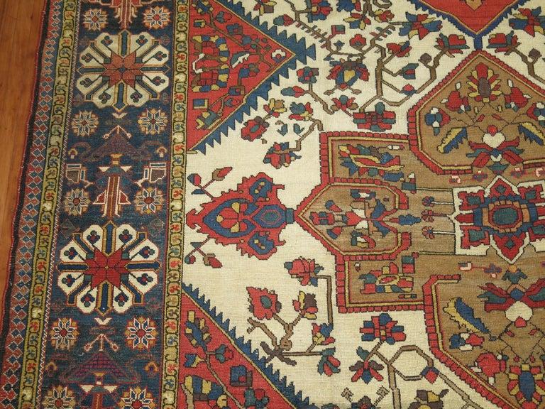 Tribal Antique Bakhtiari Rug For Sale 3