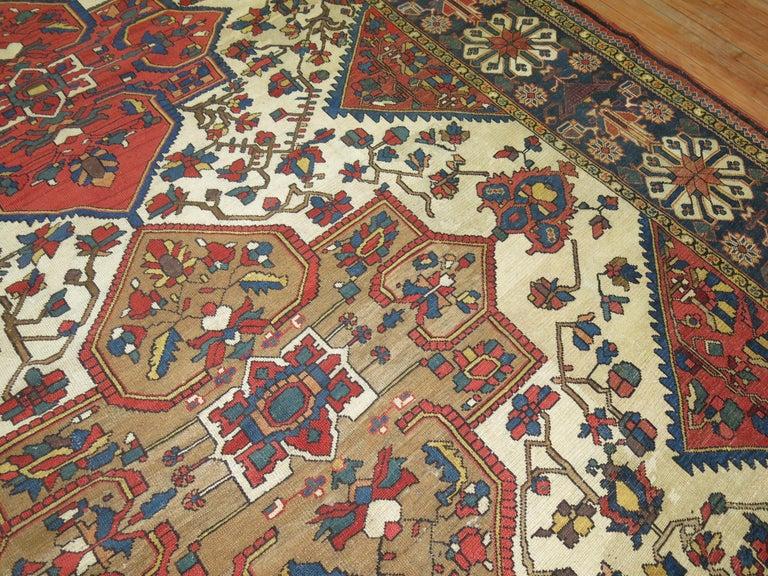 Tribal Antique Bakhtiari Rug For Sale 4