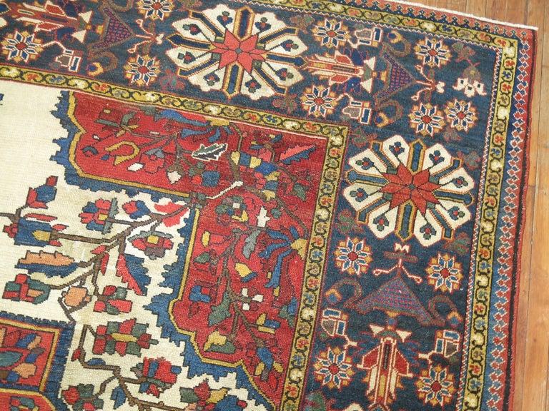 Tribal Antique Bakhtiari Rug For Sale 6