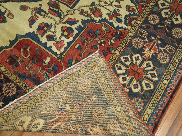 Tribal Antique Bakhtiari Rug For Sale 9
