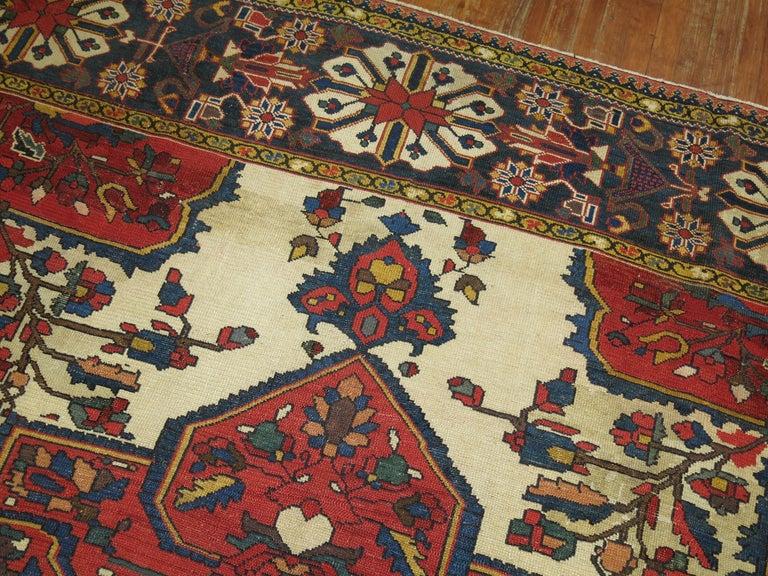 Tribal Antique Bakhtiari Rug For Sale 11