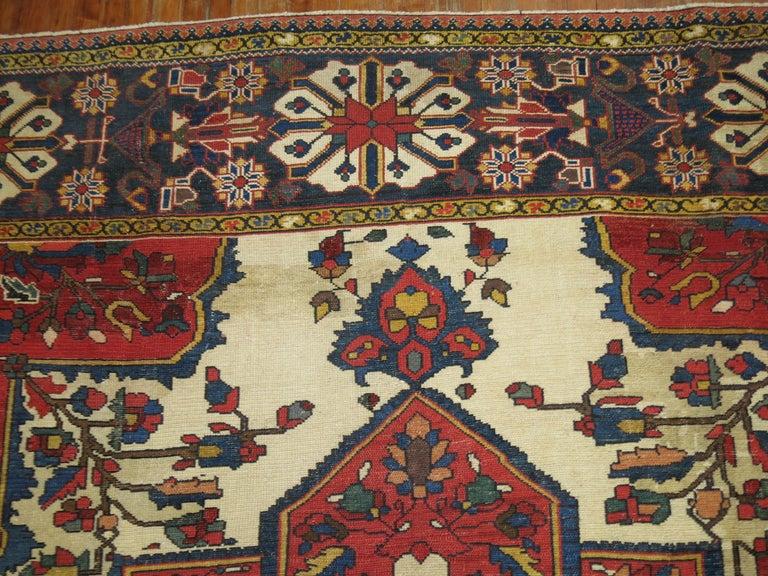 Persian Tribal Antique Bakhtiari Rug For Sale