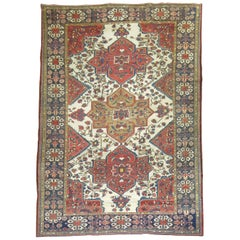 Tribal Antique Bakhtiari Rug