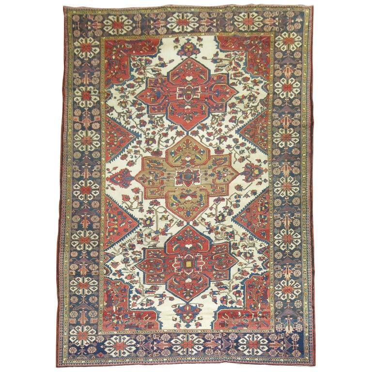 Tribal Antique Bakhtiari Rug For Sale
