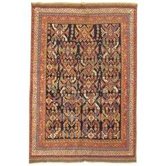 Tribal Antique Persian Afshar Geometric Rustc Rug