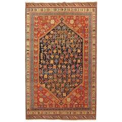 Tribal Antique Persian Afshar Rug