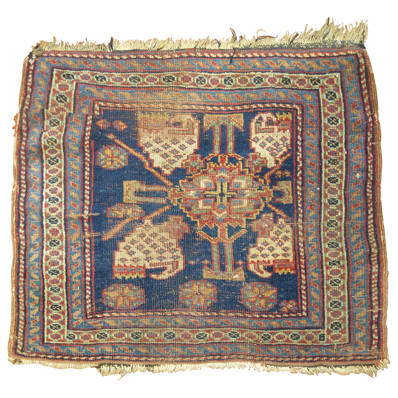 Tribal Antique Persian Bagface Rug