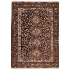 Tribal Antique Persian Qashqai Rug