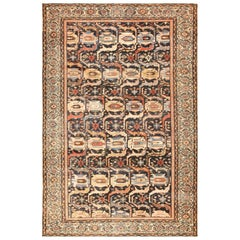 Tribal Antique Shabby Chic Persian Malayer Rug. Size: 8 ft 6 in x 12 ft 9 in