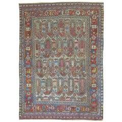Tribal Antique Shiraz Khamseh Rug