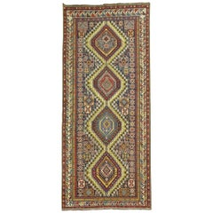 Tribal Caucasian Antique Shirvan Gallery Rug