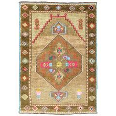 Tribal Color Pop Turkish Scatter Rug