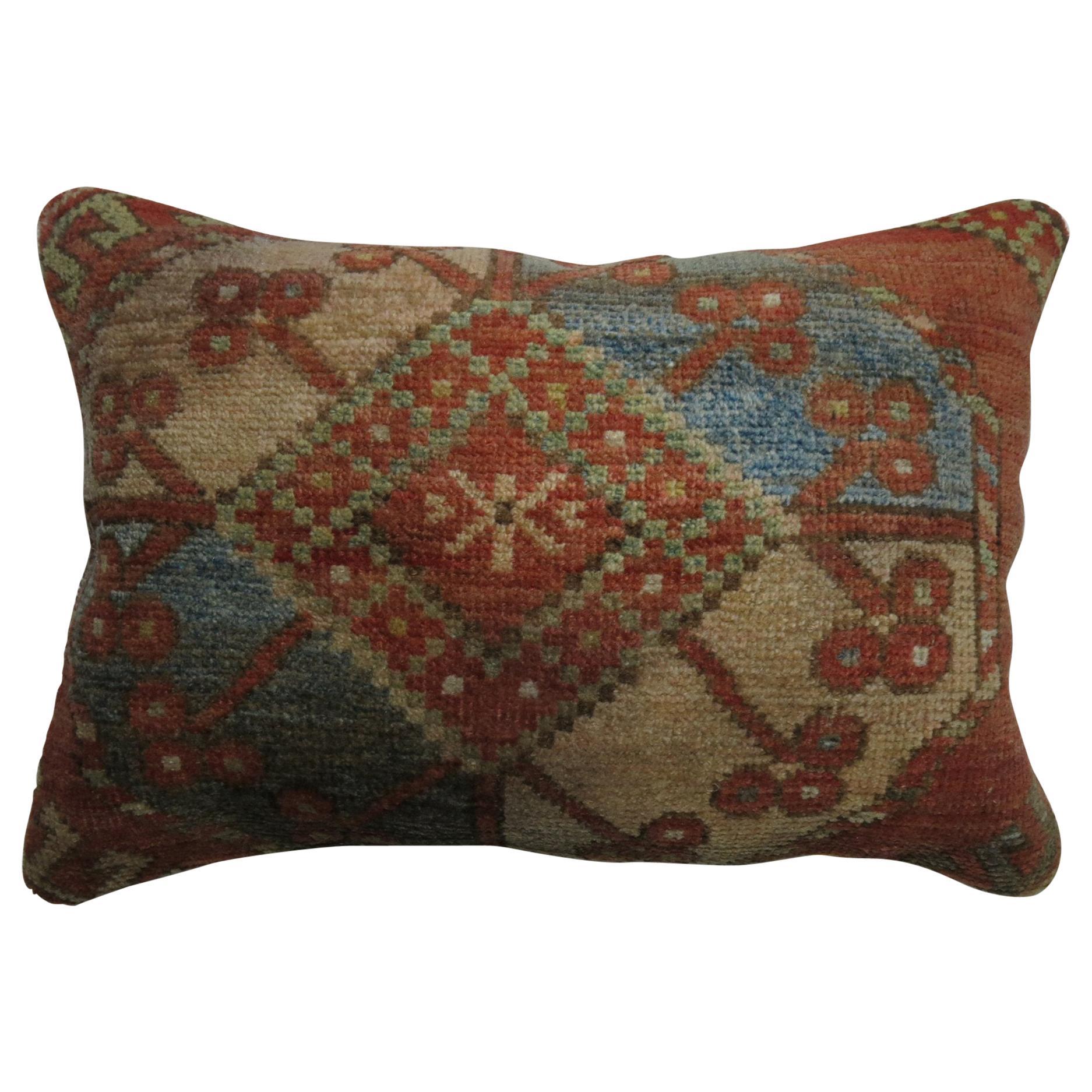 Tribal Ersari Bolster Rug Pillow