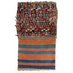 Tribal Jaff Kurd Bagface Textile Rug