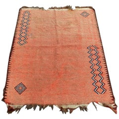 Tribal Moroccan Art Deco Rug