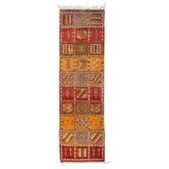 Tribal Moroccan Runner Rug or Carpet