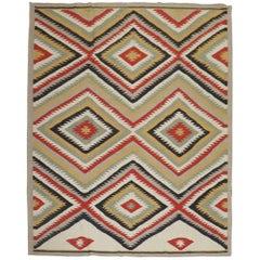 Tribal Navajo Design Room Size 21st Century Modern Rug