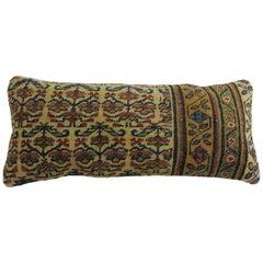 Tribal Persian Bolster Rug Pillow