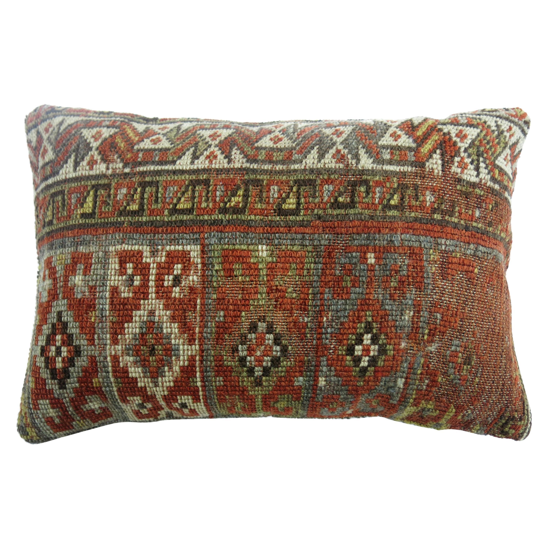 Tribal Persian Bolster Size Rug Pillow