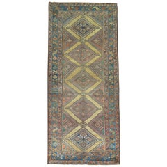 Tribal Persian Kurd Camel Rug