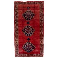 Tribal Red Turkish Kars Carpet
