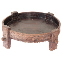 Tribal Round Low Coffee Table