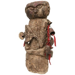 Tribal Shaman Figure from West Central Nepal, Early to Mid-20th Century