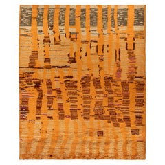 Tribal Style Moroccan Rug in Dusk Colors